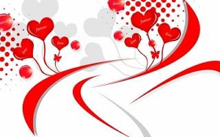 Immagine d 39 amore cuori rossi con parole di amore for Immagini di cuori rossi